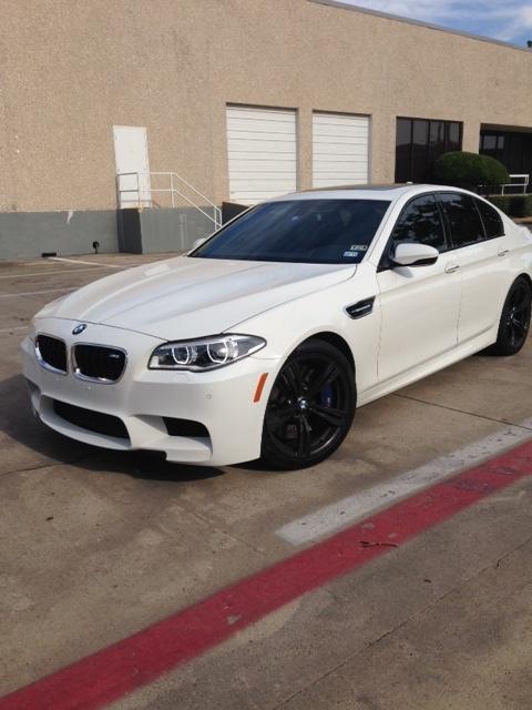 White BMW M Series Repair