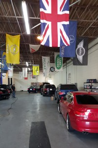 inside our bmw repair shop