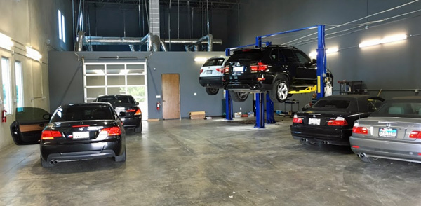 Dallas BMW Auto Body Shop