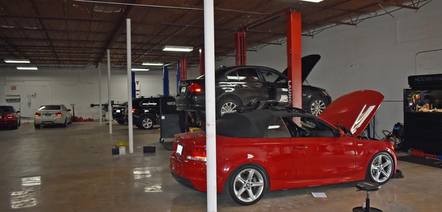 BMW service in dallas